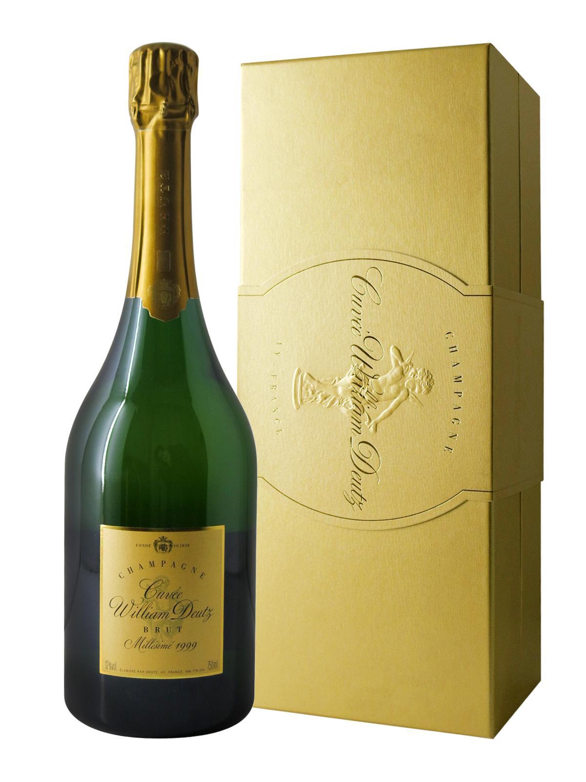 Champagne deutz millesime 1999